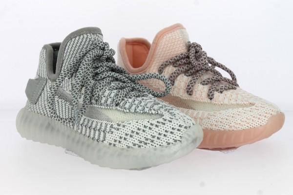 .Ki.-Freizeitschuh, PVC-Sohle, Schnürer, Textil, hl.grau + rosa