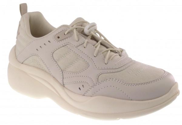 .Da.-Sportschuh, TPR-Sohle, Gummizug zum verstellen, PU+Textil, beige