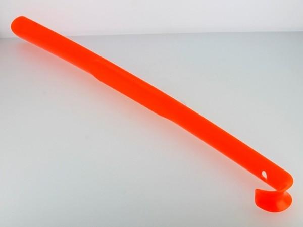Schuhanzieher, 65 cm, leuchtorange